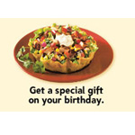 Qdoba Mexican Grill - Birthday Gifts
