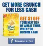 $1 Off Wheat Thins Coupon