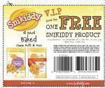 Free Snikiddy Snack Foods