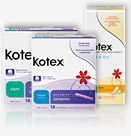 Free Kotex Sample Pack