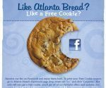 Atlanta Bread Free Cookie