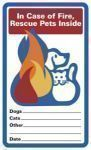Free Pet Alert Window Cling