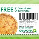 Free Oven-Baked Cheese Pizza