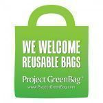 Free Reusable Bags Sticker