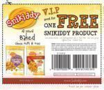 Free Snikiddy Food Product