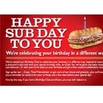 Free Firehouse Sub Sandwich