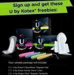 Kotex Sample Pack