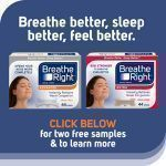 Free Breathe Right Nasal Strips