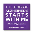 Free Alzheimer Sticker